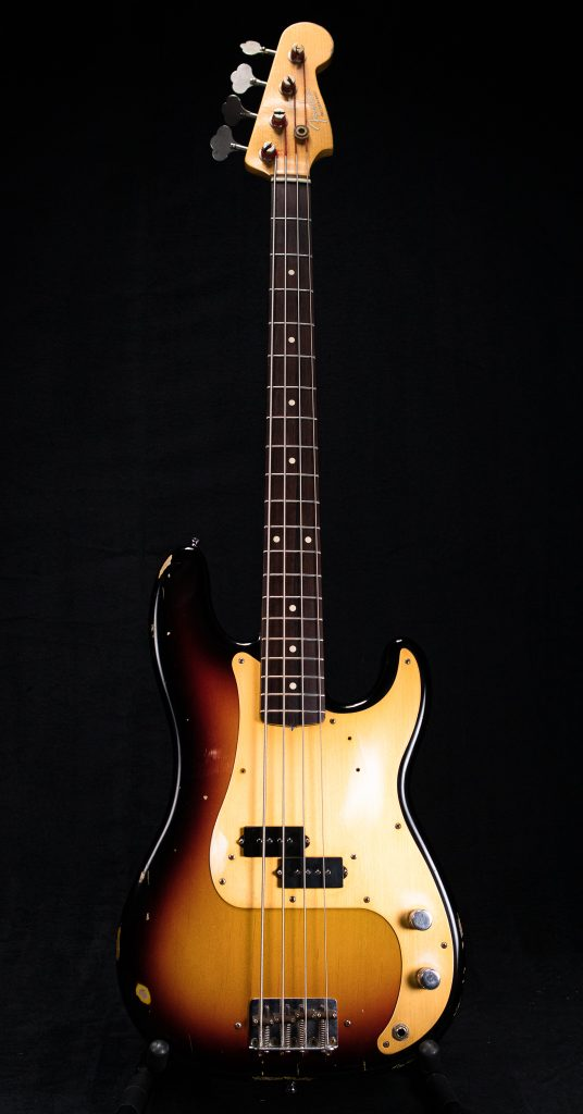 2007 Fender P-Bass 59 Relic Custom Shop