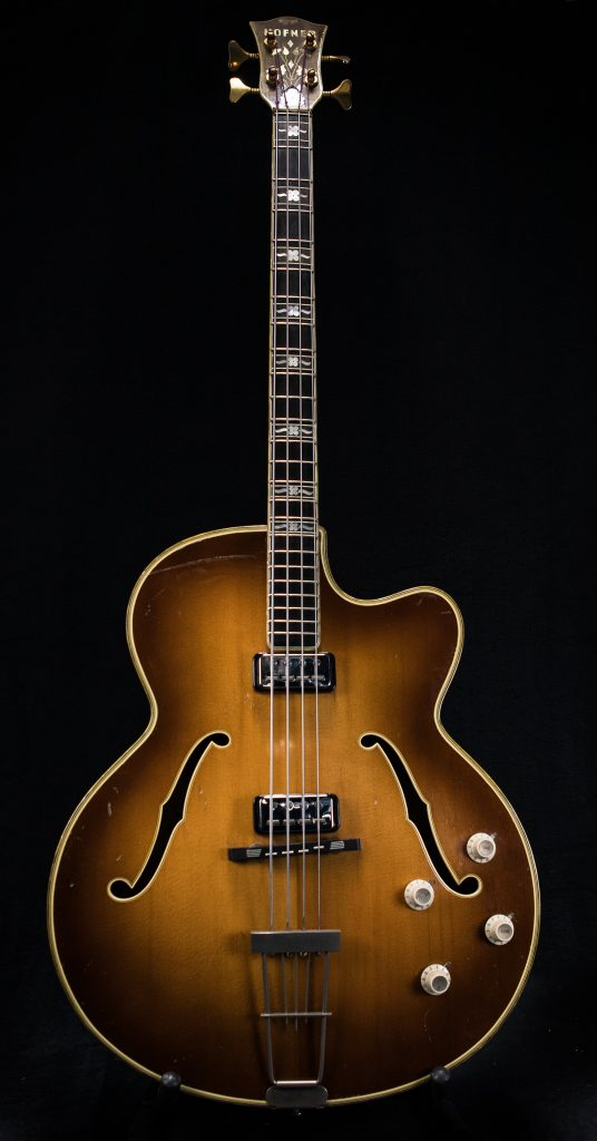 1959 Hofner Committee Bass