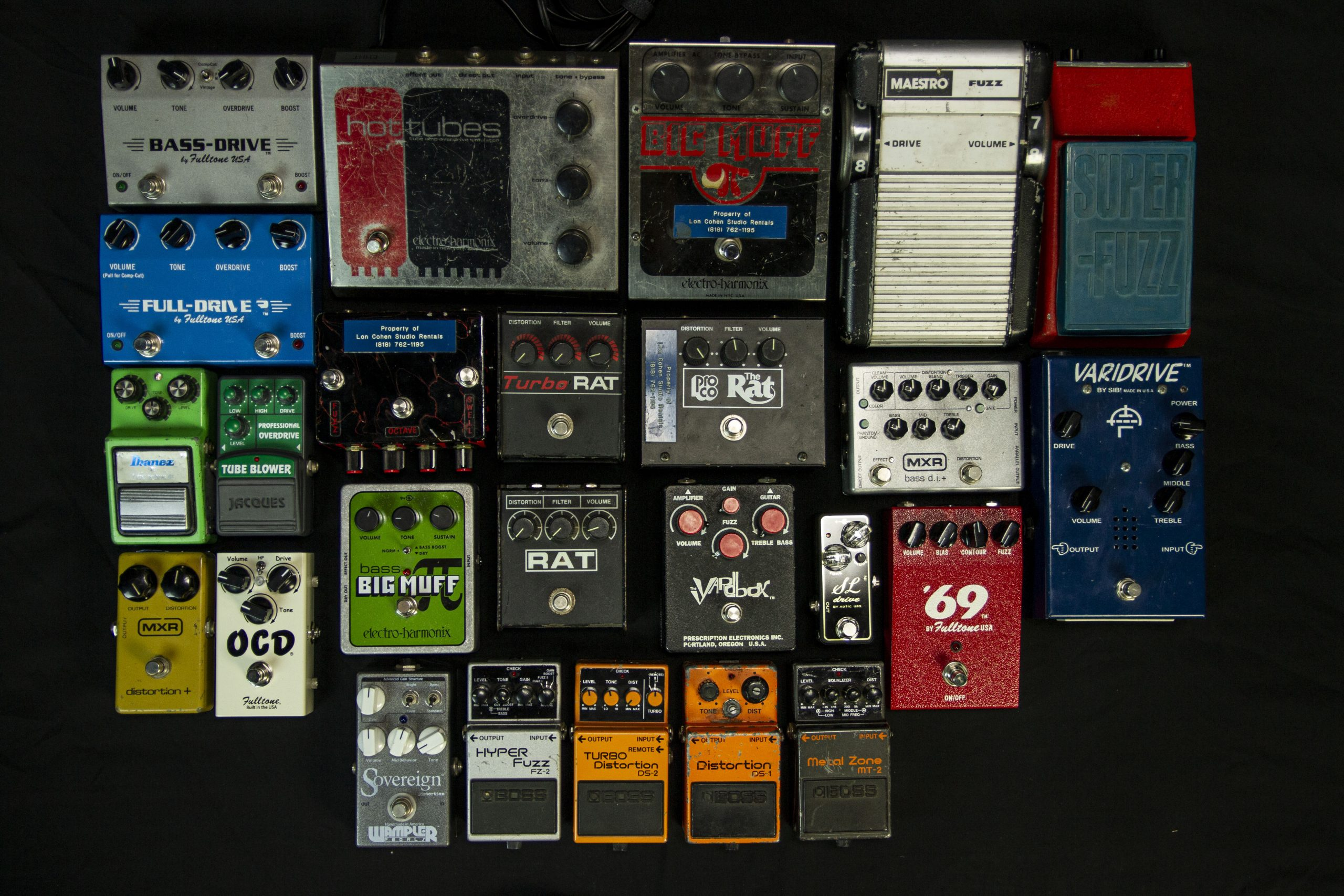 01_Distortion pedals