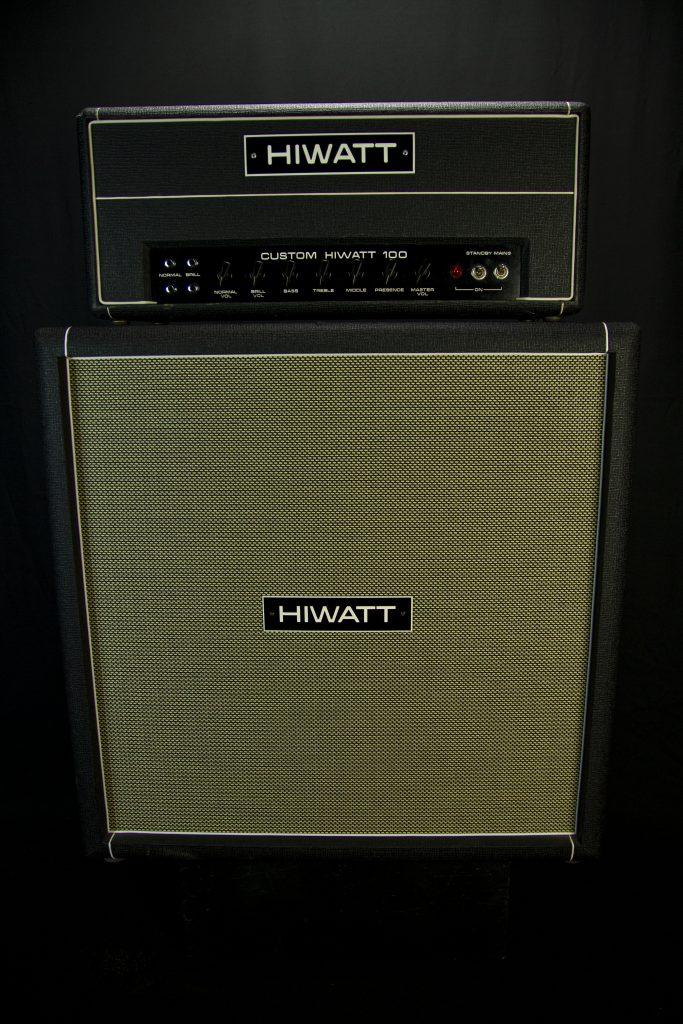 '73 HIWATT Custom 100 w/ '73 4x12 Cab