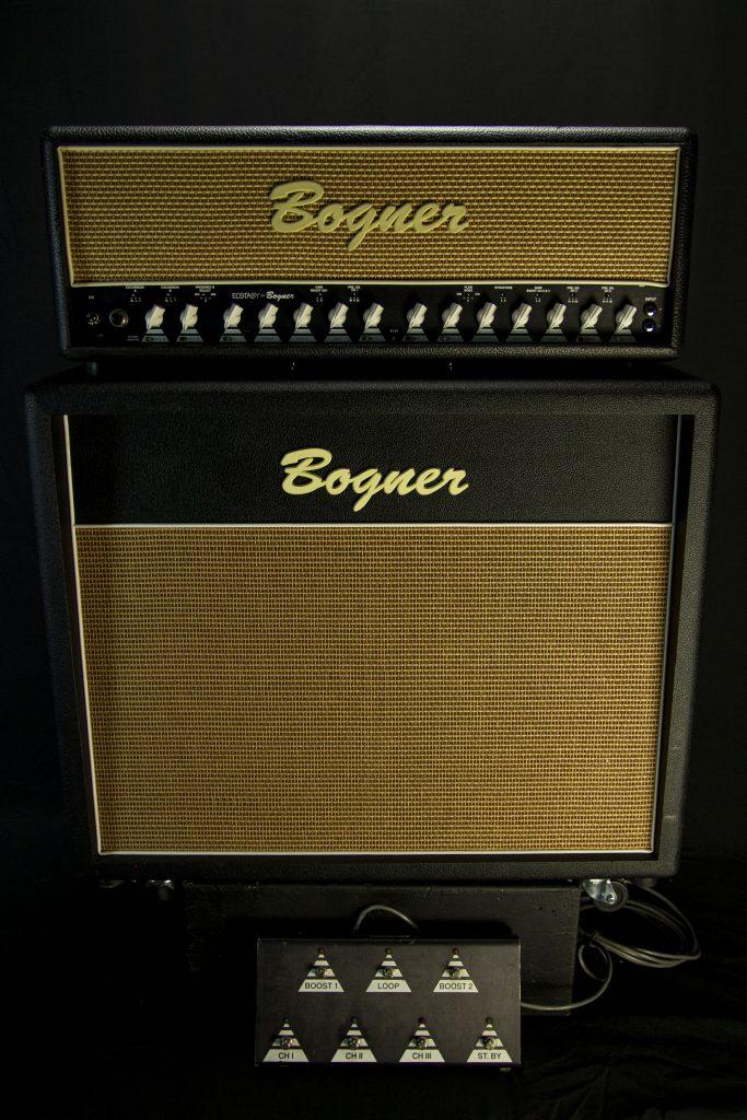 '97 Bogner Ecstasy 101B w/ 2x12 Cab