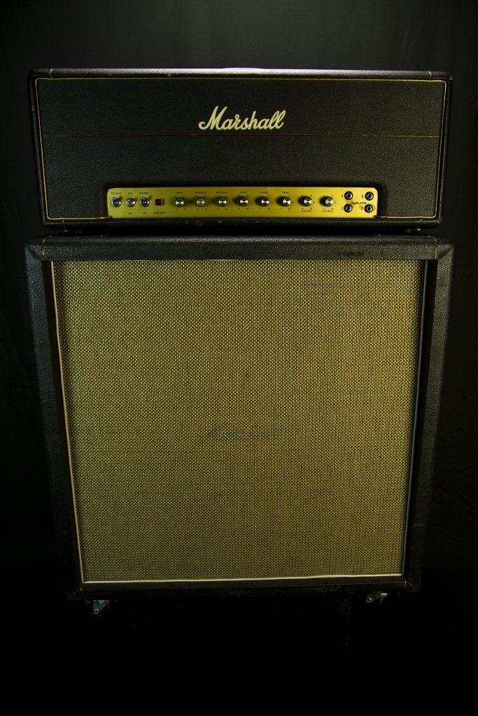 '67 Marshall Super Tremolo w/ '68 Marshall 4x12 Cab