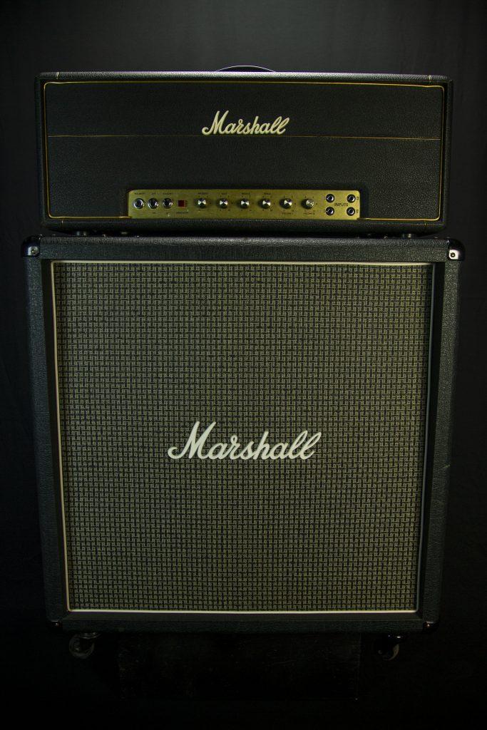'72 Marshall Master Volume w/ 70's Marshall 4x12 Straight Cab