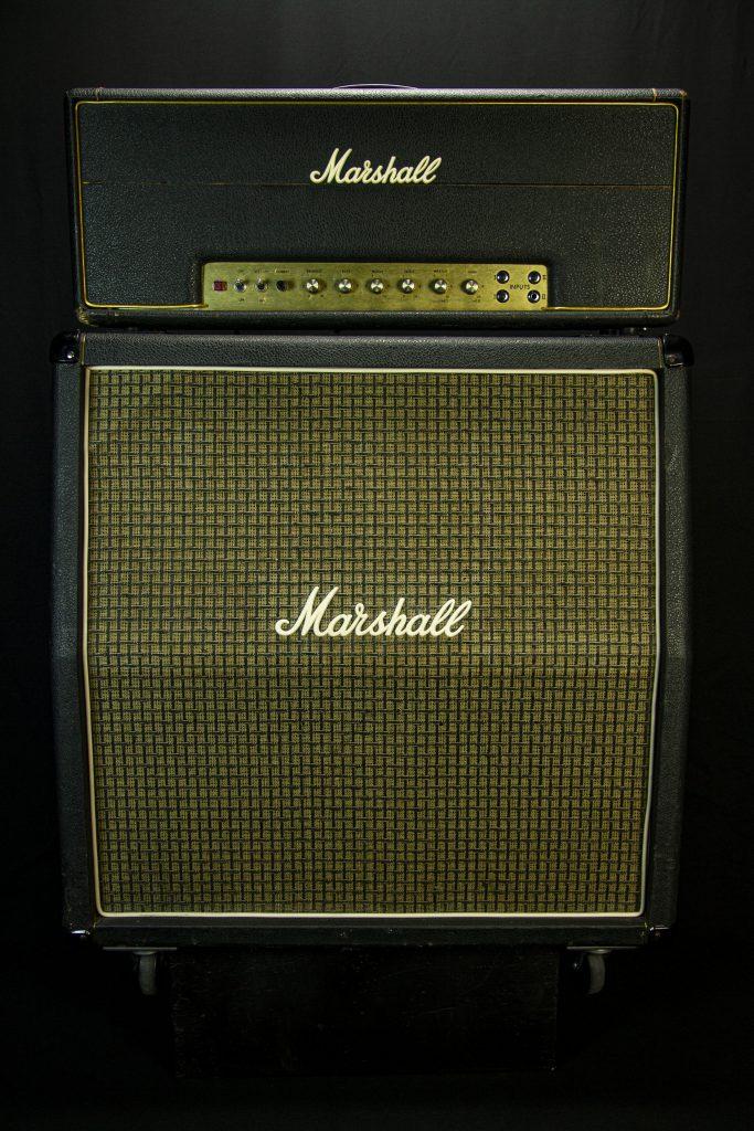 '74 Marshall Super Lead (John Suhr Mod) w/ 70's Marshall 4x12