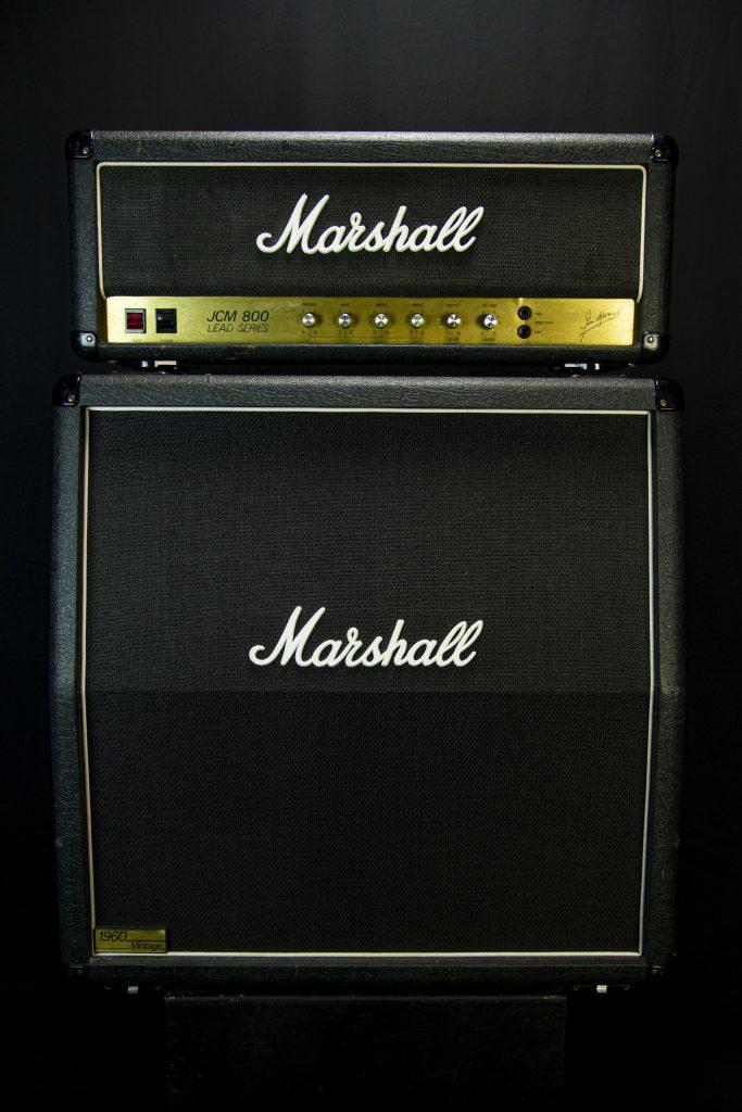 '83 Marshall JCM800 2203 w/ 4x12 Cab
