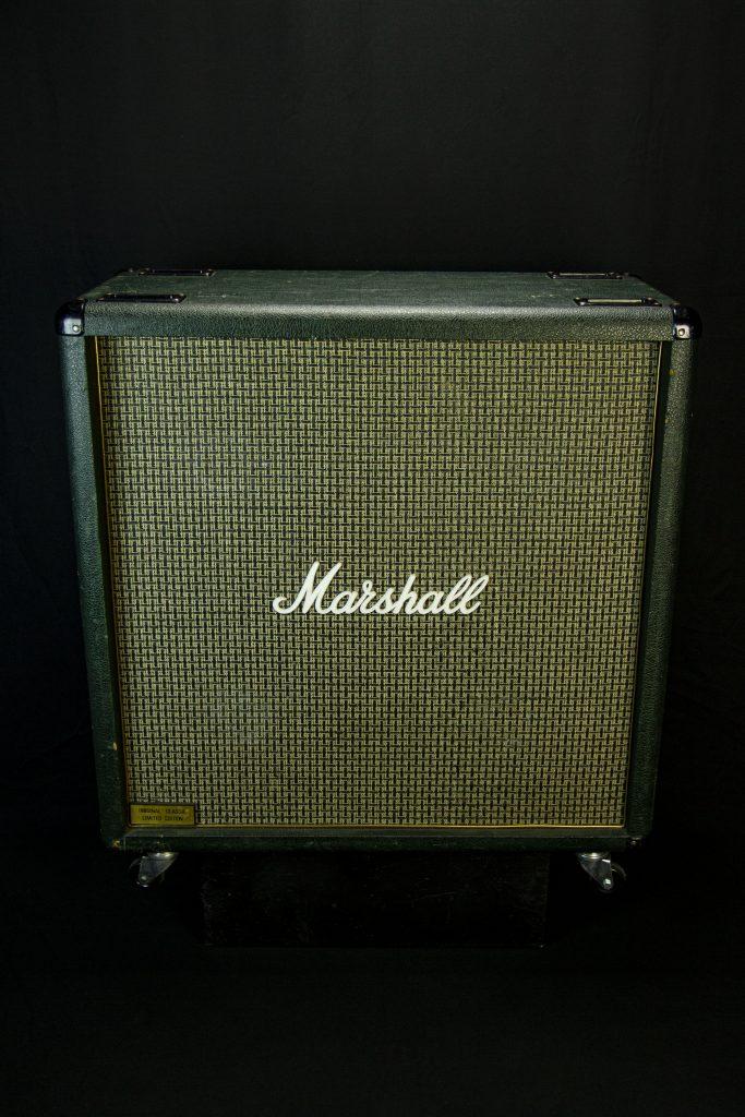 '87 Marshall 1960B 4x12 Straight Cab (Green)
