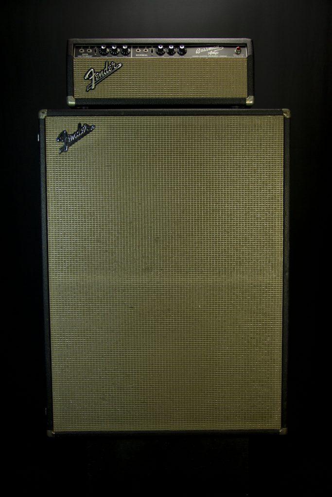 '62 Fender Bandmaster w/ '66 Bandmaster Cab